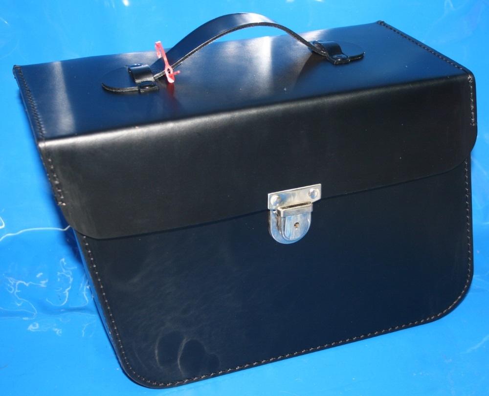 Lederpacktasche /5-84 links Behörde für Kofferhalter