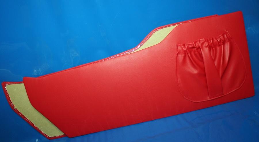 Innenverkleidung LS200 rot Steib Paar mit Kartentasche