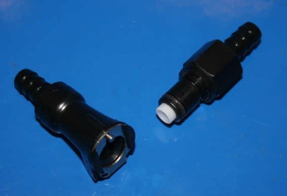 Schnellverschluss für 8mm Benzinschlauch