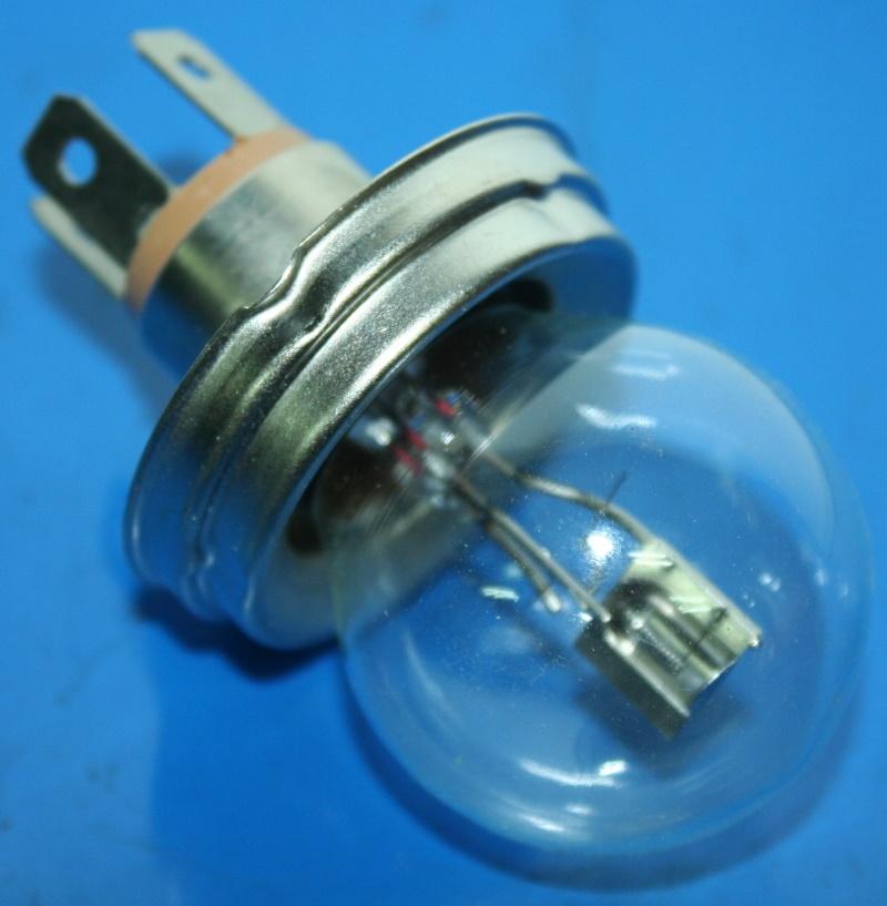 Lampada 6Volt 35/35Watt BA20D R25-69S faro