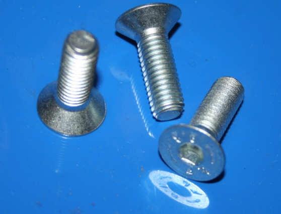 Schraube Lenkergewicht M8x25 verzinkt silber