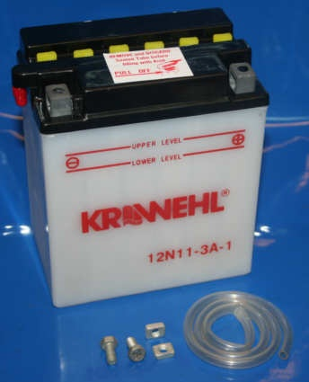 Batterie 12V 11AH 12n11-3a-1