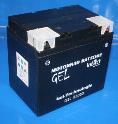 Batterie 12V 30AH GEL BMW/Guzzi u.a.