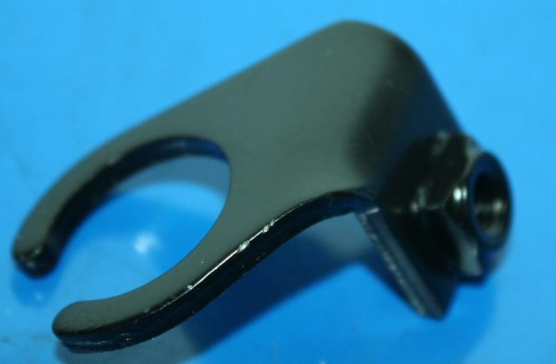 Halter Ölkühlerschlauch R100GS re.Sturzbügel schwarz