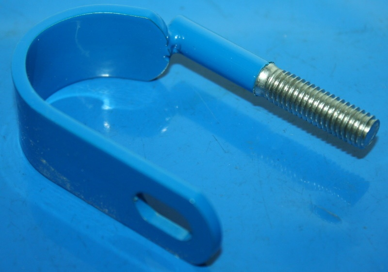 Schelle Sturzbügel oben blau z.B. R80GS Basic