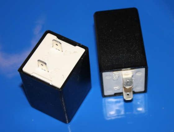 Blinkrelais 6 Volt 2polig für Ochsenaugen-Blinker