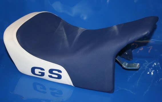Sitzbank Einzel R80GS R100GS blau/weiss Nachfertigung