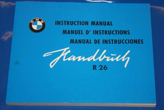 Betriebsanleitung R26 SP/FR/GB
