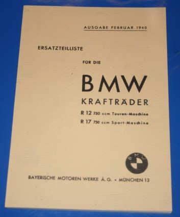 Ersatzteilkatalog R12 , R17 Deutsch