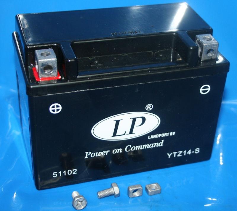Batterie 12V12AH SLA R1200GS K1300 C600 F800