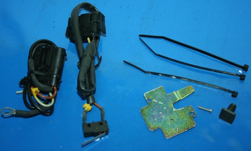 Zusatzschutz Sitzbank DWA R1100RS R1100RT Set