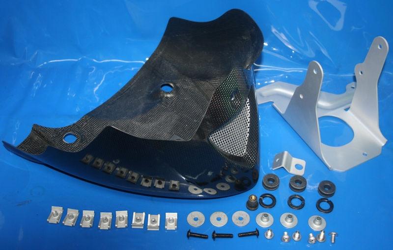 Nachrüstsatz Motorspoiler F650CS 02 04 Karbon