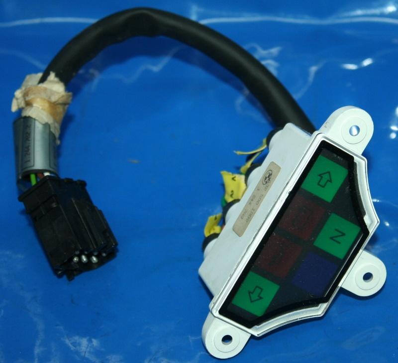 Lampenträger GS R100R 91- Kontrollleuchten mit Kabel