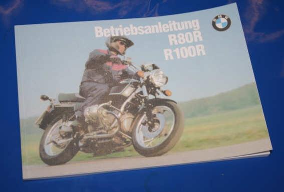 Betriebsanleitung R80R R100R 92- deutsch