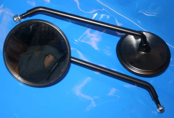Spiegel links lang schwarz motorradteile stark for Spiegel lang