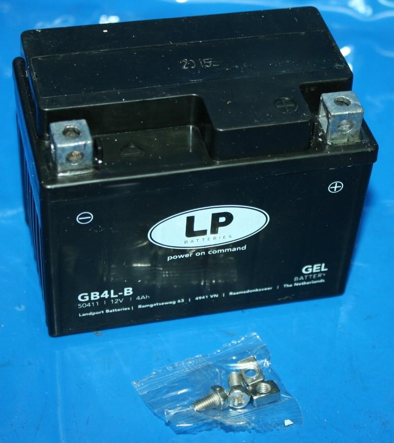Batterie 12V 4AH GEL