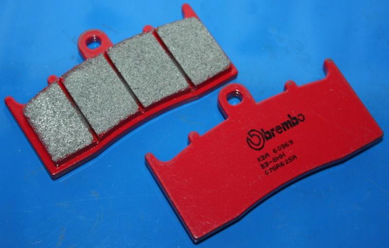 Bremsklötze R1150R/RS R1100S Integr. K1200R/S vorn sinter