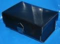 Topcase Leder G/S+GS schwarz Druckschloss mit Schlüssel