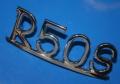Schriftzug R50S chrom