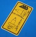 Aufkleber ABS vorne K100RS K1100RS K1100LT