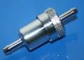 Benzinfilter 7mm Anschluß verchromt für 2 Ventiler Boxer